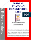 50 IDEAS THAT CAN CHANGE YOUR LIFE