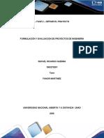– Fase 2 – Definir El Proyecto Rafael Guerra