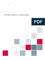 PASW Statistics 18 Brief Guide