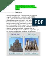 13. EDAD MEDIA - CUADROS COMPARATIVOS ENTRE ARTE ROMÁNICO Y GÓTICO, ENCUENTRA TODAS SUS DIFERENCIAS