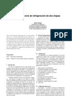 Diseño de un ciclo de refriferación de doble etapa.pdf