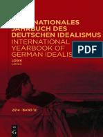 (International Yearbook of German Idealism, Volume 12) Dina Emundts, Sally Sedgwick - Logik _ Logic-Walter De Gruyter (2014).pdf