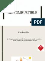 6.5 Biocombustible