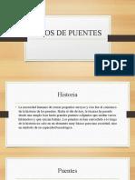 TIPOS DE PUENTES 2