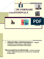 rute de formare profesionala