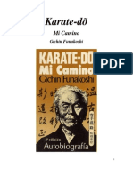 Karate-do Mi Camino Funakoshi