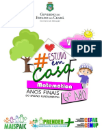 #ESTUDOEMCASA - MT - 6º ANO - VOL.6