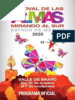 Programa Festival Almas 2020