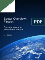 White Star Capital 2020 Fintech Sector Report