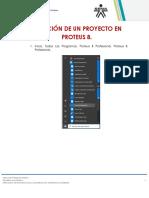 Creación de Un Proyecto en Proteus