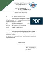 LEVANTAMIENTO DE CARRETERA