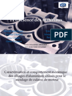 TPE science de materiaux ENIM