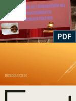 formas de terminacion del proceso. PPT