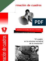 formación de cuadros.pps