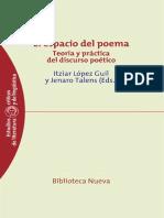 LOPEZ GUIL y TALENS - El espacio del poema