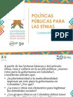 6. Politicas publicas y grupos etnicos