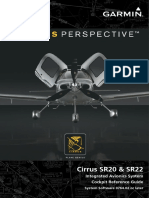 Cirrus SR Perspective Cockpit Reference Guide