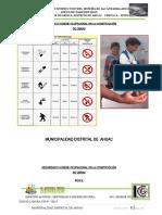 1.Especificaciones de Seguridad e Higiene Ocupacional para la Obra.