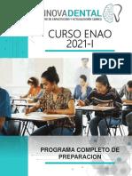 BROCHURE-PREPARACIÓN ENAO 2021-I (1) (2) (1)