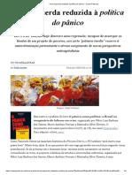 Uma esquerda reduzida à política do pânico - Outras Palavras.pdf
