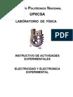 Instructivo de Electricidad y Electrónica Exp