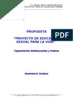 proyecto   educacion sexual para la vida - mvm