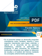 diseño experimental franklin fase 2