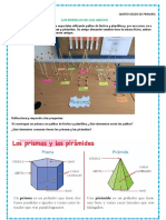 prismas y piramides para quinto grado