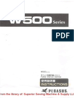 Pegasus W500 Instruction Manual.pdf