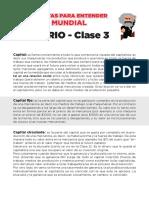 GLOSARIO - CLASE 3