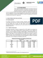 Informe Mesa sectorial automotriz