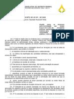 Projeto autoriza contratação temporária de servidores públicos aposentados e militares inativos