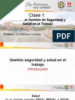 CLASE 1-SISTEMA DE GESTION SST