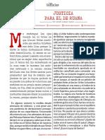JUSTICIA PARA EL DE RUANA - Daniel Samper