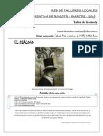 XVI sesión - El diálogo - Taller.