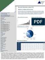 Factsheet de BALANZ INVERTIR GLOBAL Clase A