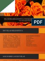FILOSOFIA HELENISTICA Y ROMANA