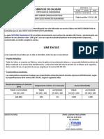 Informe fabricación DN 450 Bio C30 - 1936 LM