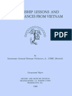 Leadership Lessons and Remembrances From Vietnam