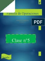 Familia de Operaciones 2°