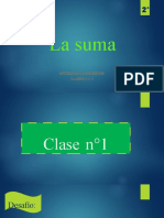 La suma