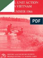 Small Unit Action in Vietnam Summer 1966