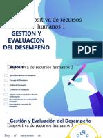 evaluacion y desempeño en una empresa
