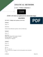 [VCE Methods] 2013-16 TSSM Unit 34 Exam 2 Solutions