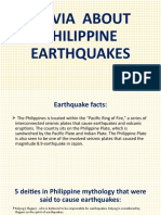 LESSON 10. FACTS ABOUT EARTHQUAKE IN THE PHILIPPINES - 1A