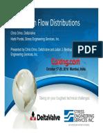 Coke-Drum-Flow-Distributions-Orino-Bedoya-DeltaValve-Stress-Engineering-Services-DCU-Mumbai-2016