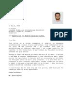 Apllication for  CANADIAN tRILIAM.docx