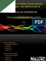METODOS DE INTEGRACIÓN