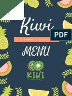 Kiwi Menu