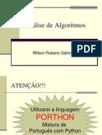Analise de Algoritmo-02 - Notação O